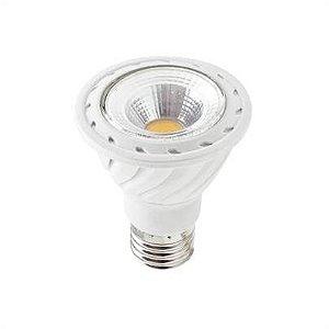 Lampada COB LED Par 20 6w E27 Branco Quente 3000K 540 Lumens Bivolt