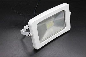 Refletor Ipad LED 20W Branco 6000K Luz Branca Bivolt IP 66 a prova d´água e poeira