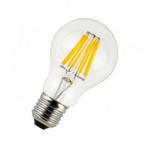 Lâmpada LED Bulbo Filamento 6w  A60 E27 Bivolt 2700K Branco Quente Bivolt