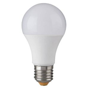 Lâmpada LED Bulbo 10W A60  Bivolt 3000K Branco Quente