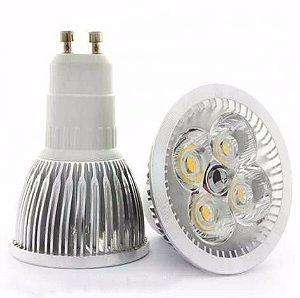 Lâmpada LED Dicróica MR16 GU10 5W 6500K Bivolt