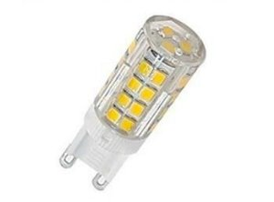 Lâmpada Led Halopin G9 3,5W 127V 3000K Branco Quente