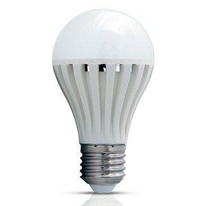 Lâmpada de Emergência Inteligente LED Bulbo A60 7W E27 6500K Branco Frio Bivolt