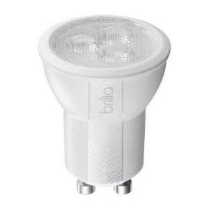 Lâmpada LED MR11 Brilia Dimerizável GU10 3,5W 127V 2700K Inmetro