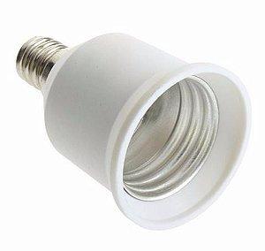 Adaptador Soquete para Lâmpada E-14 para E-27