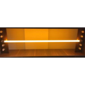 Lâmpada LED Tubular Color Glass 18W T8 G13 120cm Amarelo