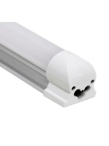 Lâmpada LED Tubular T5 com calha 120cm 20W Branco Neutro 4000K Bivolt