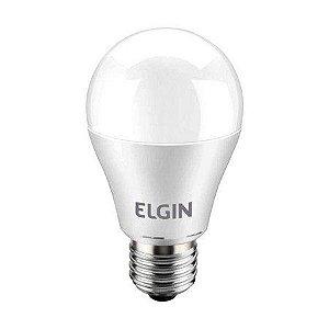 Lâmpada bulbo led Elgin A60 9w bivolt 6500k branco frio Inmetro