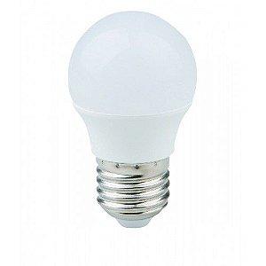 Lâmpada LED Mini Bulbo Bolinha LED 5W E27 Branco Frio 6500K Bivolt