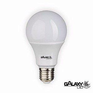 Lâmpada led bulbo Galaxy A60 9w 3000K bivolt