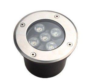 Luminária LED Embutido de solo 5W 3000K Branco Quente Bivolt