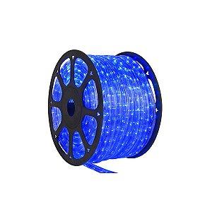 Mangueira redonda led azul 127v ip66 1 metro