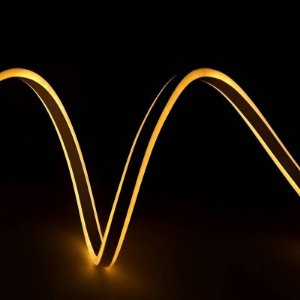 Mangueira led neon flex branco quente 220v ip66 1 metro