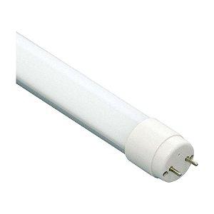 Lâmpada Tubular Vidro LED 9w T8 60cm 4000K Branco Neutro Bivolt