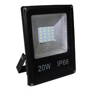 Refletor Led SMD 20w 6500K Branco Frio Bivolt IP66