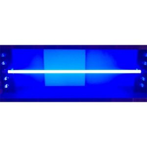 Lâmpada LED Tubular Color 2l 20W T8 G13 120cm Azul