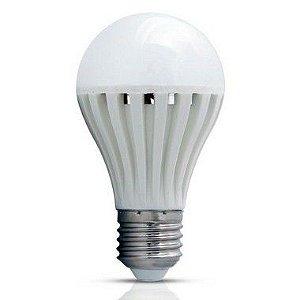 Lâmpada de Emergência Inteligente LED Bulbo A60 9W E27 6500K Branco Frio Bivolt
