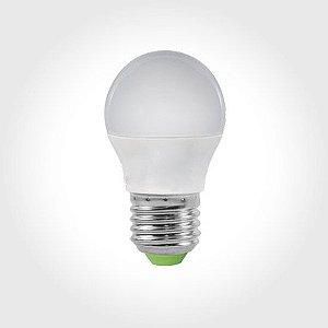 Lâmpada LED Mini Globo Bulbo 5w Bivolt 6000K Branco Frio