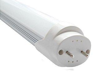 Lampada Tubular LED T8 18w 120cm - bivolt - branca fria 6000k leitosa (Luz Branca)