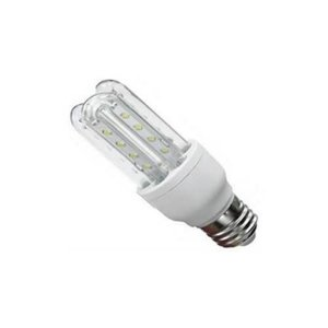 Lâmpada Econômica LED 5W 3U Bivolt 6500K Branco Frio Bivolt