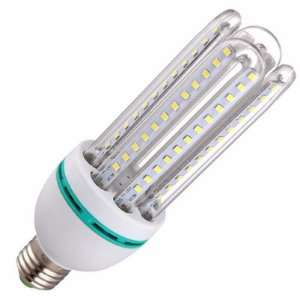 Lâmpada Econômica LED 20W 4U Bivolt 6500K Branco Frio Inmetro