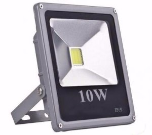 Refletor Led Slim 10W COB Bivolt IP66