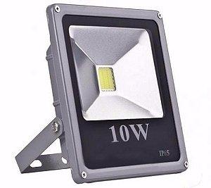 Refletor Led Slim 10W Bivolt IP 66 a Prova d´água e poeira