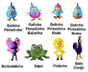 Mordedor Galinha Pintadinha
