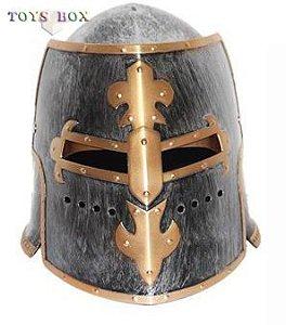 Capacete Elmo Medieval Gladiador Fantasia Cosplay