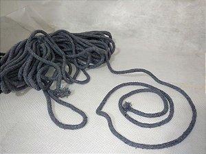 7 m Corda de Algodão Azul