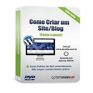 Curso de como criar um blog passo a passo em video aulas