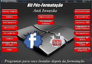 Kit pos formatação tecnico em informatica