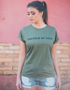 T-shirt Soldier of Love