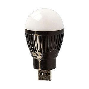 Mini lampada de led cor branca