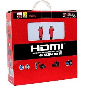 Cabo HDMI 1.4 ULTRA HD 3D 30 metros