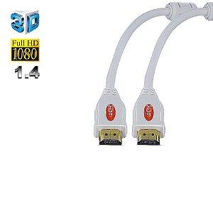 Cabo HDMI 1.4, Branco