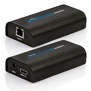 HDMI Extender TX/RX - Extensor via cabo de rede até 120 metros