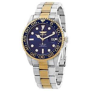 Relógio Masculino Invicta Pro Diver 33254 Prata & Dourado