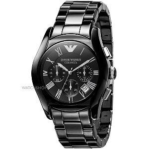 Relógio Masculino Emporio Armani AR1400 Preto