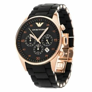 Relógio Masculino Emporio Armani Sportivo AR5905 Preto