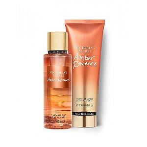 Kit Hidratante Victoria's Secret Amber Romance