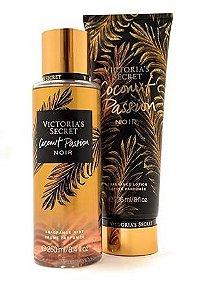Kit Hidratante Victoria's Secret Coconut Passion Noir