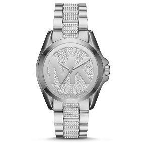 Relógio Feminino Michael Kors MK6486 Prata Cravejado