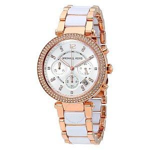 Relógio Feminino Michael Kors MK5774 White / Rose