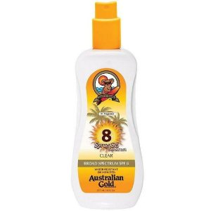 Protetor Australian Gold FPS 8 Spray 237ml
