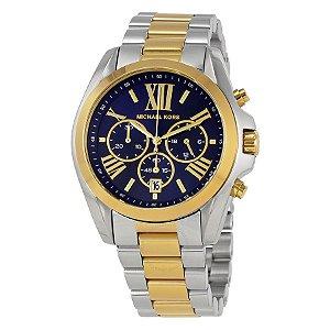 Relógio Feminino Michael Kors MK5976 Prata com Dourado