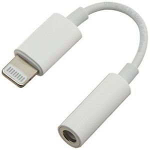 Cabo Apple MMX62AM/A Adaptador Lightning A 3.5MM Branco