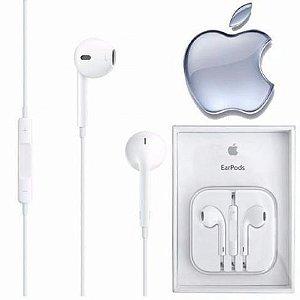 fone Original Apple MD827BZ/A com Controle de Áudio Branco