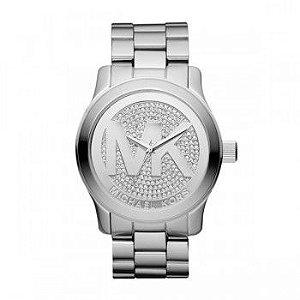 Relógio Feminino Michael Kors MK5544 Prata Oversize