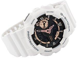 Relógio Unissex Casio GA-110RG 7ADR Branco